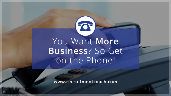 Image: Want More Business? So Pick Up the Phone!